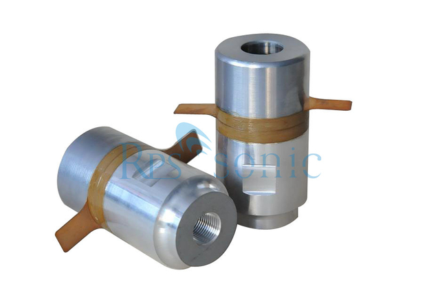 Type Column 25Khz Ultrasonic Welding Transducer for Ultrasonic Metal Welding