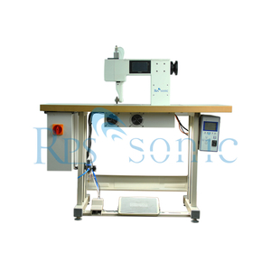 20Khz Ultrasonic Sewing Machine with Rotary Anvils & Rotary Horn for Lamination And Edge Sealing